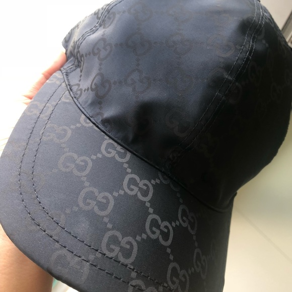 a871c5699019b2 Gucci Accessories | Gg Canvas Baseball Hat Midnight Blue Nwot | Poshmark